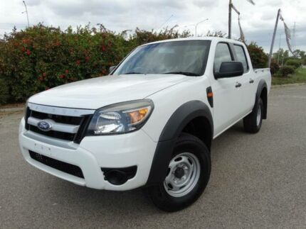 2011 Ford Ranger PK XL (4x2) White 5 Speed Manual Dual Cab Pick-up Vincent Townsville City Preview