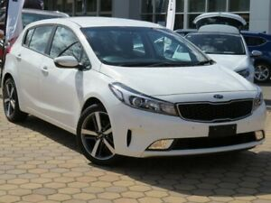 2017 Kia Cerato YD MY18 Sport White 6 Speed Sports Automatic Hatchback Greenway Tuggeranong Preview
