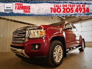 2017 Gmc Canyon 4WD SLT. Text 780-205-4934 for more information!
