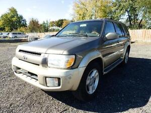 2001 Infiniti QX4 FULLY LOADED IT'S BEING SOLD (AS IS)