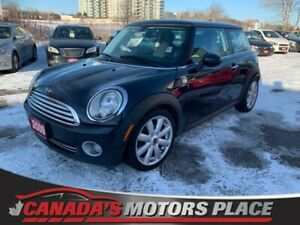2009 MINI Cooper Hardtop Classic Classic |LEATHER ACCENT| 6 spee