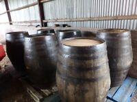 XL Extra Large Old Oak Wooden Whiskey Barrels