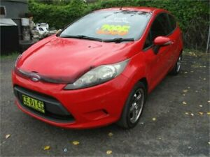 2009 Ford Fiesta WS CL Red 5 Speed Manual Hatchback Camden Camden Area Preview