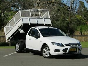 2012 Ford Falcon FG MkII Super Cab White 6 Speed Sports Automatic Cab Chassis Strathalbyn Alexandrina Area Preview