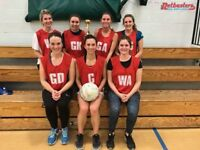 Soical Netball Leagues - team and players wanted!