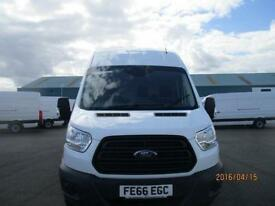 Ford Transit T350 LWB HIGH ROOF VAN TDCI 125PS DIESEL MANUAL WHITE (2016)