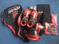 Brand new high quality full kickboxing kit - Xen-Do - Ladies Medium size