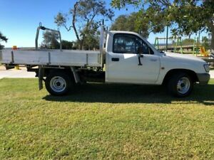 2002 Toyota Hilux RZN147R MY02 Workmate 4x2 White 5 Speed Manual Cab Chassis Tugun Gold Coast South Preview