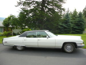 1972 Cadillac Sedan Deville 4 Door Hard Top