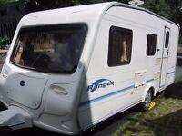 Bailey Ranger Four Berth Touring Caravan