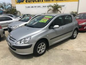 2005 Peugeot 307 T5 MY04 XS HDI Silver 5 Speed Manual Hatchback St James Victoria Park Area Preview