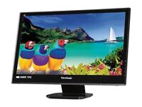 Viewsonic VX2753MH VS13918 LED 27-Inch LED Monitor LCD Display Black
