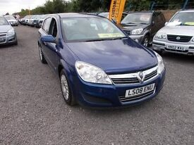 Vauxhall Astra 1.6 i 16v Life 5dr LOW CC 6 MONTHS NATIONWIDE WARRANTY Minster Autos ME12 3RT