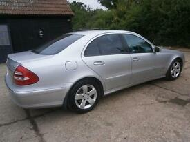 53 MERCEDES-BENZ E320 3.2 CDI TURBO DIESEL AUTOMATIC AVANGARDE 105K FSH 10STAMPS