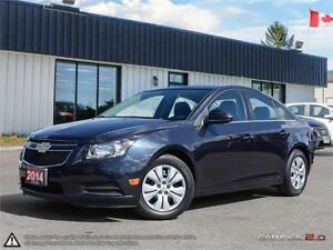 2014 Chevrolet Cruze 1LT,LOW KMS,ONE OWNER,REARVIEW CAM,B.TOOTH