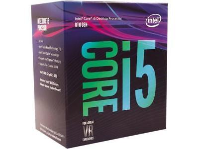 Intel Core I5 8600 Coffee Lake 6 Core 3 1 Ghz  4 3 Ghz Turbo  Lga 1151  300 Seri