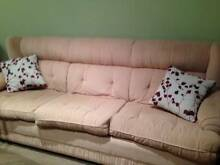 3 seater fabric lounge suite Gordon Ku-ring-gai Area Preview