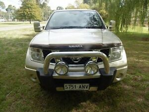 2011 Nissan Navara D40 ST Gold 5 Speed Automatic Utility Mount Barker Mount Barker Area Preview