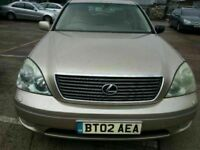 LEXUS LS430 SAT NAV ALLOYS LEATHER AUTOMATIC 12 MONTHS MOT