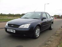 2002 FORD MONDEO AUTOMATIC : MOT TO MAY 2018 : LOW MILEAGE 73.000