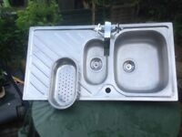 Used Reversable Sink & Drainer