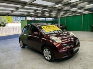 2010 Nissan Micra K12 Deep Purple 4 Speed Automatic Hatchback Croydon Burwood Area Preview