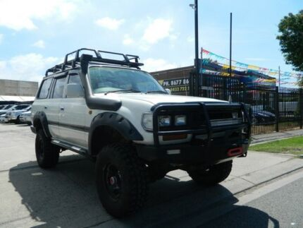 1994 Toyota Landcruiser GXL (4x4) White 5 Speed Manual 4x4 Wagon Williamstown North Hobsons Bay Area Preview