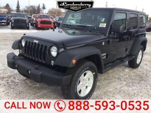 2018 Jeep Wrangler JK Unlimited 4X4 UNLIMITED SPORT