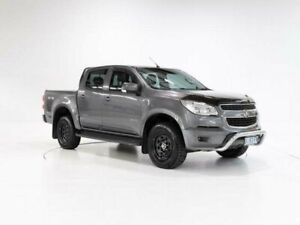 2013 Holden Colorado RG MY14 LT (4x4) Grey 6 Speed Manual Crew Cab Pickup Devonport Devonport Area Preview