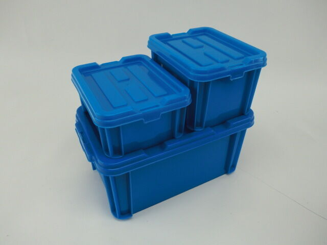 Stackable Hobby Craft Boxes Stacking Plastic Storage Bins Mickey