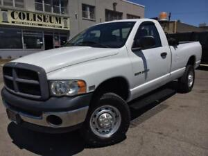 2004 Dodge Ram 2500 4X4 **ONLY 136KM-NEW TIRES/BRAKES**