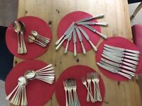 8 piece silver plated cutlery set
