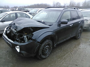2010 SUBARU FORESTER LIMITED ** COMPLETE PART OUT ** GREY Kitchener / Waterloo Kitchener Area image 2