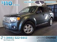 2012 Ford Escape XLT-Sync-Power Driver Seat-Satellite Radio