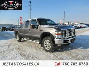 2009 Ford F-350 Lariat 4X4 DIESEL 8ft Box DVD Backup Camera