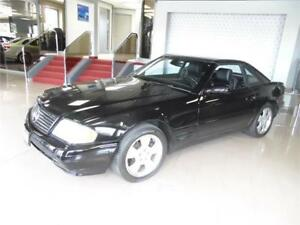 2002 MERCEDES BENZ SL500  **HARD TOP + SOFT TOP**