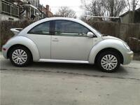 VOLKS  NEW BEETLE  AUTOMATIQUE   56348 KILLOMETRES SEULEMENT