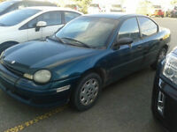 1997 Plymouth Neon Sedan - Great for a Mechanic