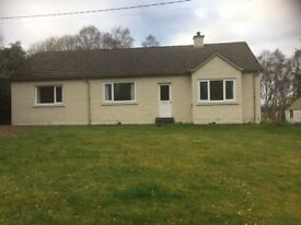 Detached House for rent, Teandalloch, Beauly - 3 bedrooms, large garden