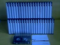 TDK D C90 CASSETTE TAPES x 40 : PRO-USE ONCE ONLY THEN STORED. ANY QUANTITY & TYPES ARE AVAILABLE