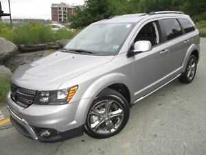 2017 DODGE JOURNEY Crossroad (ORIGINAL MSRP $40910, NOW JUST $22