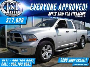 2009 Dodge Ram 1500 SLT Quad Cab 4X4! UR APPROVED-APPLY NOW!