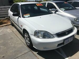 2000 Honda Civic 7th Gen GLi White 4 Speed Automatic Sedan St James Victoria Park Area Preview