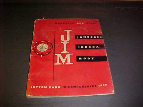 Scout Jamboree Handbook - Sutton Park 1957
