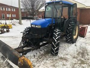 Tracteur New Holland Model TN75D