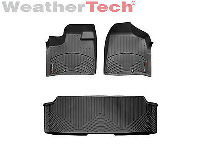 WeatherTech FloorLiner for Dodge Grand Caravan w/ 2nd Row Bench 2011-2019 Black