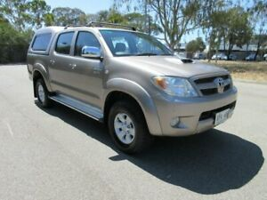 2006 Toyota Hilux KUN26R SR5 (4x4) Bronze 5 Speed Manual Dual Cab Pick-up Gilles Plains Port Adelaide Area Preview