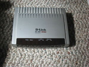D-Link ADSL Modem and Accessories