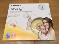 Madela Swing Single Electric Breast Pump - in new condition