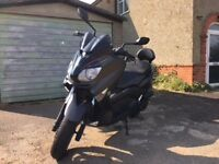 Yamaha Xmax Sport 125 scooter low miles, 2012, recent MOT and just serviced.